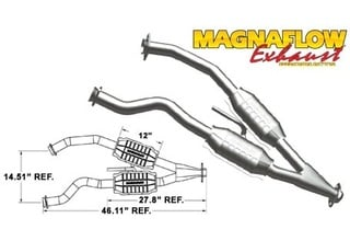 Lincoln Mark VII Exhaust