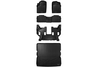 MAX LINER C0242 Black Floor Mat for Nissan Armada//Infiniti QX56 Third Row QX80