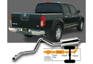 Ford Explorer Sport Trac Exhaust