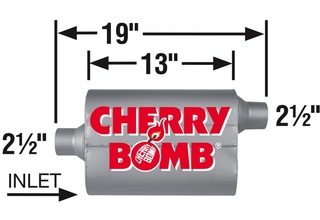 Cherry Bomb 7410CB Muffler Cherry Bomb PRO
